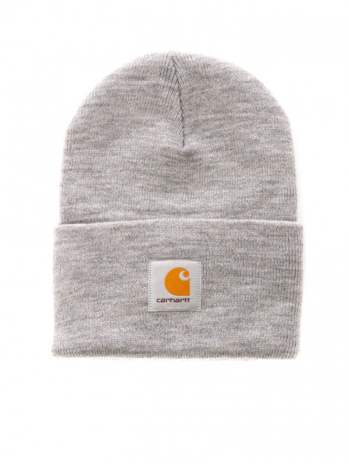 Acrylic watch hat grey heather