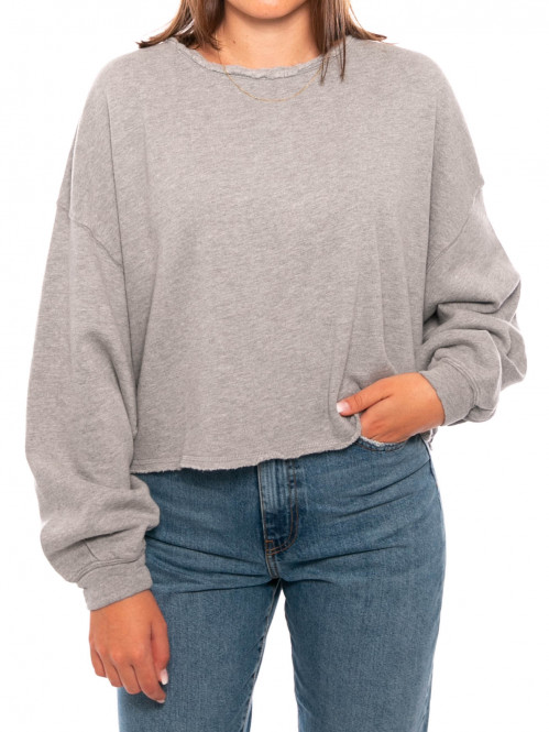 Ret sweater 74 gris chine