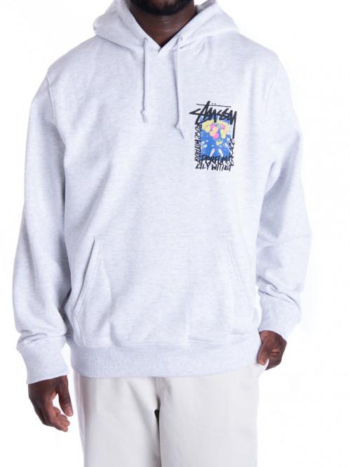 Camelias hoodie ash heather
