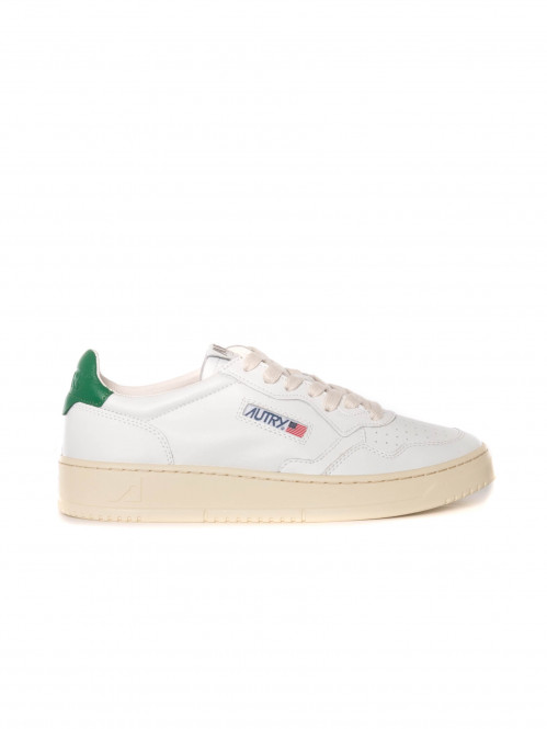 Medialist mens sneaker white green