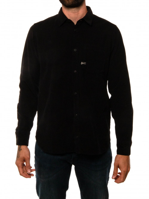 Axel cord shirt black