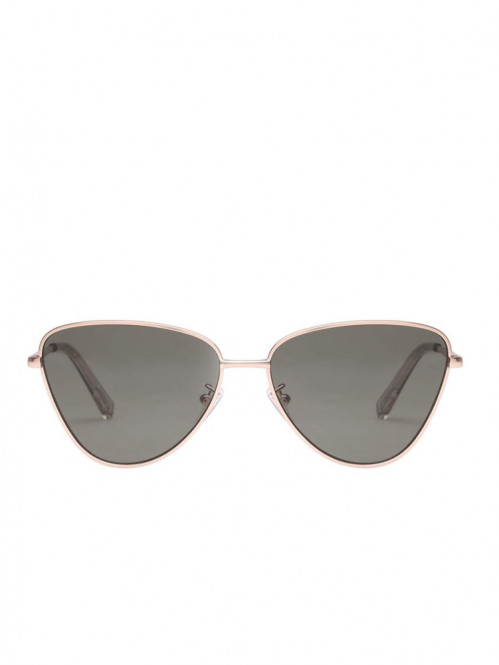 Echo sunglasses matte gold