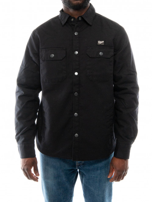 Maxwell padded shirt black
