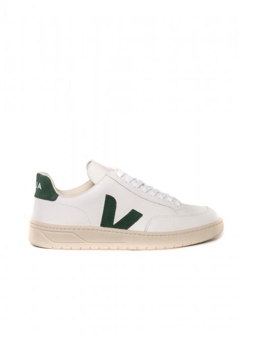 V12 leather sneaker white cyprus