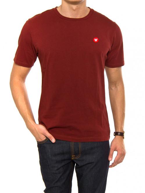 Ace t-shirt dark red
