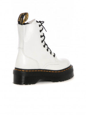 Jadon boots white smooth 2 - invisable