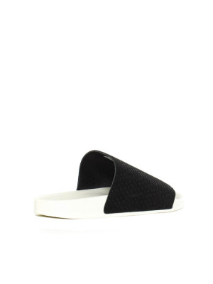 Adilette luxe w core black 2 - invisable