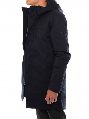 Parka jacket 7632 navy 2 - invisable