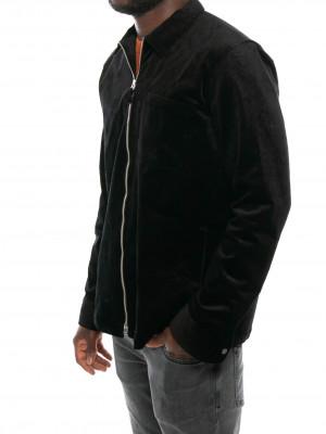 Zip shirt 1322 999 black 2 - invisable
