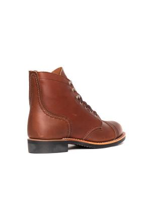 Wmns Iron ranger boots amber 2 - invisable