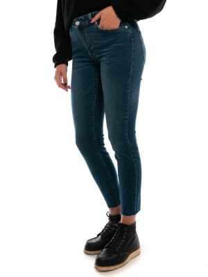 Kate lux ancle jeans mid blue 2 - invisable