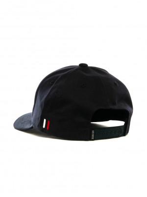 Baseball cap suede 2 dark navy 2 - invisable