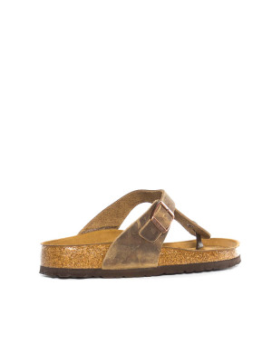 Gizeh sandals tabacco brown 2 - invisable