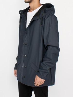 Rain jacket dark blue 2 - invisable
