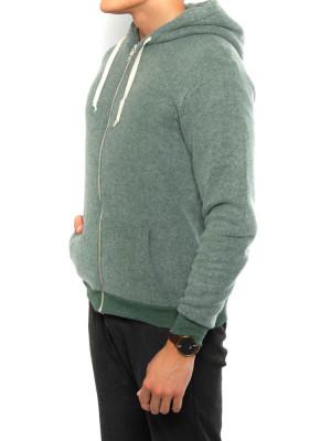 Kima zipper jacket green 2 - invisable