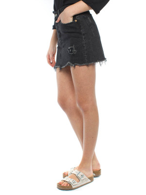Deconstructed skirt skimmy black 2 - invisable