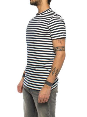 Tino t-shirt stripe navy 2 - invisable