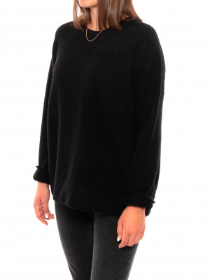 Nor o-n long pullover 7355 black 2 - invisable