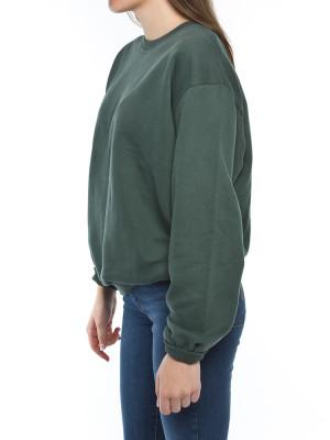 Porto sweatshirt jungle green 2 - invisable