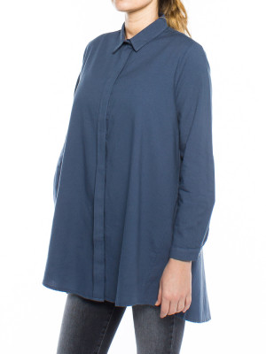 Nuria blouse navy 2 - invisable