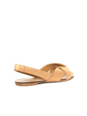 Leather sandals lt saddle 2 - invisable