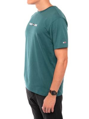 Small logo t-shirt ca4 green 2 - invisable