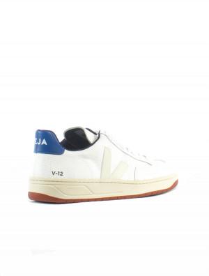 V12 bastille sneaker b-mesh white indigo 2 - invisable