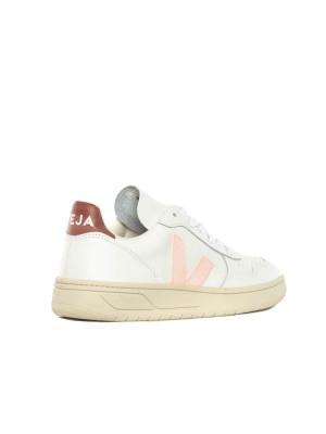 V10 leather sneaker white petal 2 - invisable