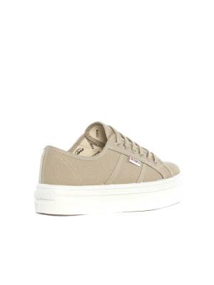 Blucher lona shoes beige 2 - invisable
