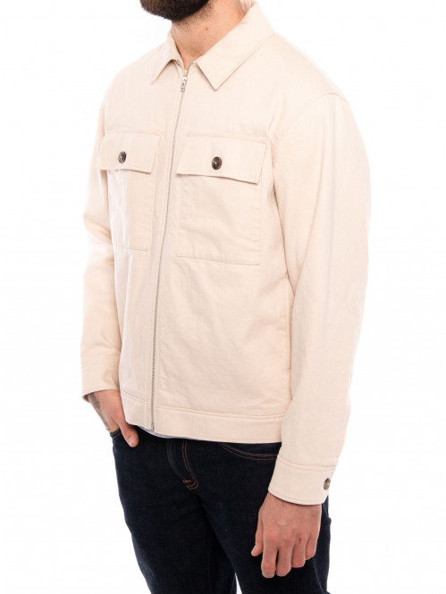 Mens jacket ecru