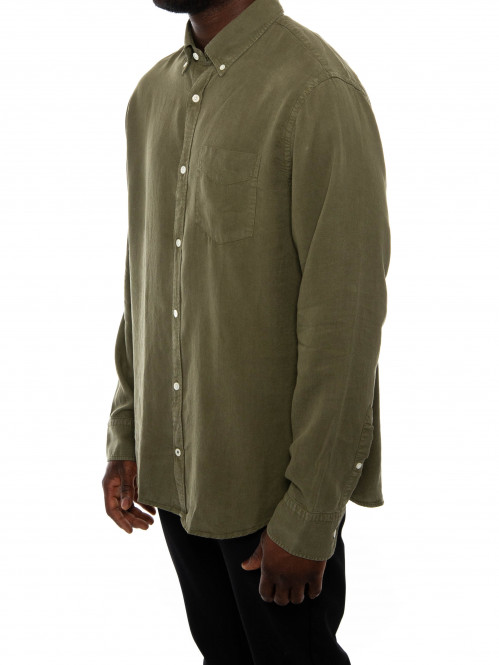 Levon bd shirt leaf green