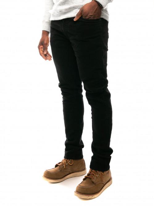 Lean dean cord pants black