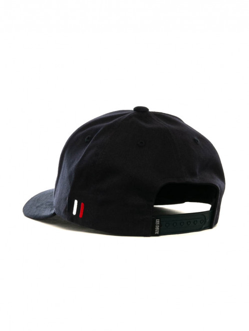 Baseball cap suede 2 dark navy