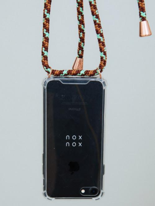 iPhone necklace 7/8 camo copper