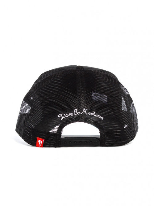 Baylands trucker cap black white