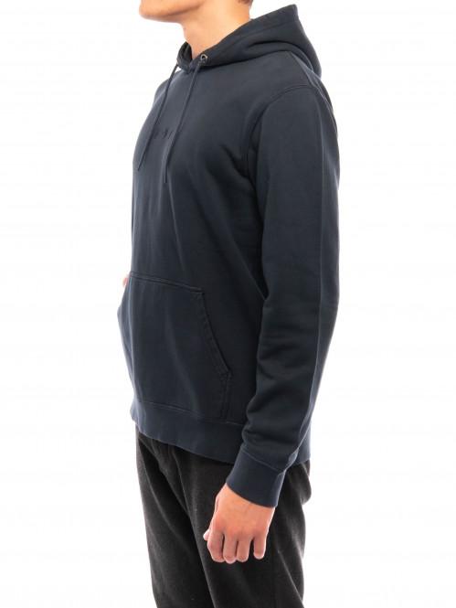 Katakana hoodie faded grey
