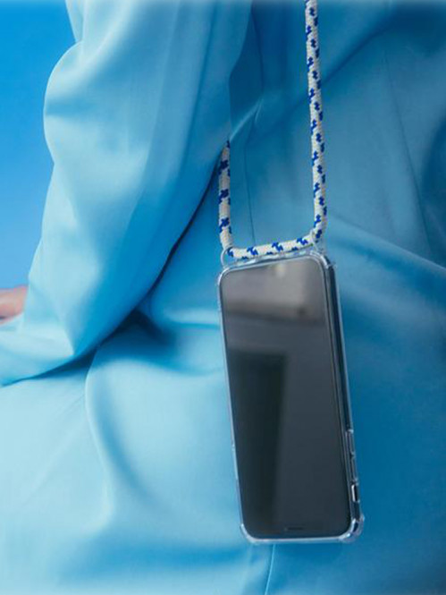 iPhone necklace 7/8 grey camo