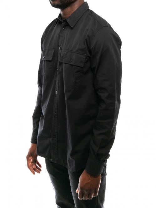 Villards shirt dark navy