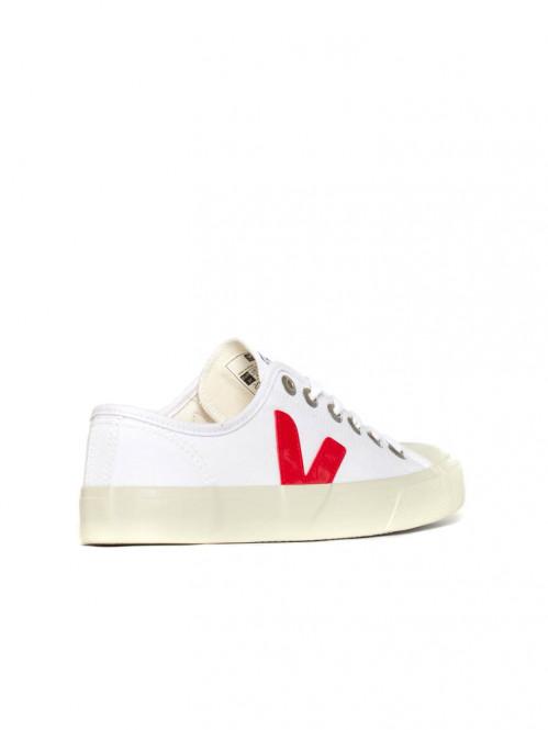 Wata canvas sneaker white pekin