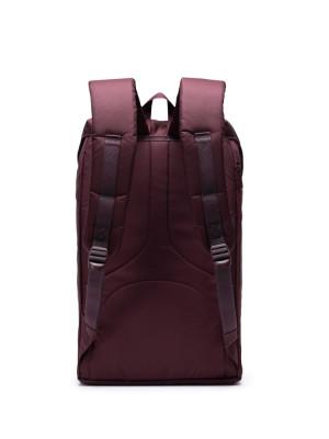 Little America backpack lightweight plum 3 - invisable