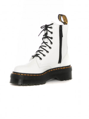 Jadon boots white smooth 3 - invisable