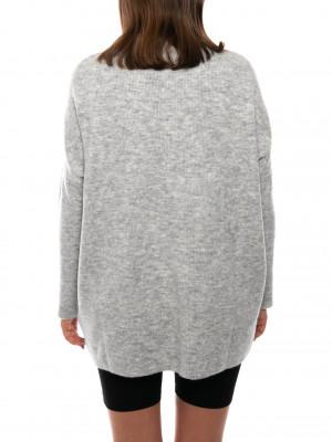 Bella pullover lt grey mel 3 - invisable