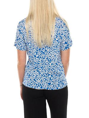 Juliet bree print shirt blue 3 - invisable
