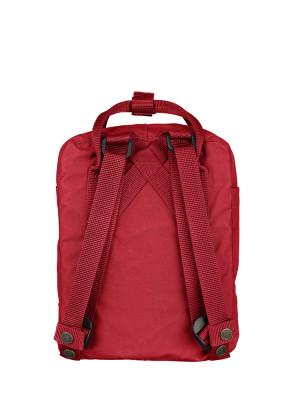 Kånken mini backpack deep red 3 - invisable