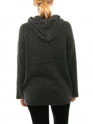 Cora hoody dark grey mel 3 - invisable