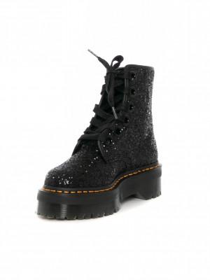 Molly boots glitter black 3 - invisable