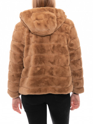 Saba jacket fakefur khaki 3 - invisable