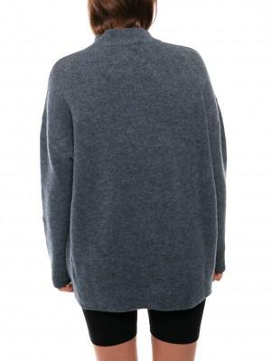 Fern pullover dress blue 3 - invisable