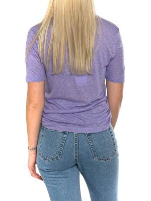 Ulrica t-shirt violet 3 - invisable