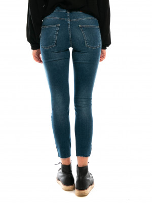 Kate lux ancle jeans mid blue 3 - invisable